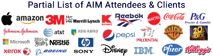 Partial list of AIM Attendees & Clients
